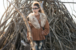 Native American-Model-Styled-Girl-Teepee