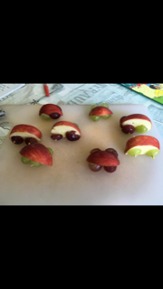 Delicious Apple Race Cars!