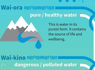 Types of water - te reo