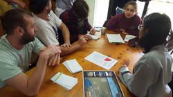 Students planning debate
