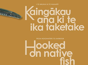 Hooked on Native Fish poster NZ LC Trust