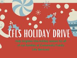 Spendenkampagne: Joy for the Holidays