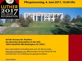 Bis 28.5. anmelden: Pfingstgottesdienst in der Residenz am 4. Juni