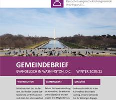 Neuer Gemeindebrief Winter 2020/21 erschienen