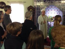 Besuch in der Moschee