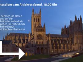 Am 31.12.: Gottesdienst zum Jahreswechsel in der National Cathedral