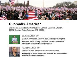 Quo vadis, America?