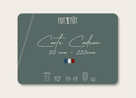 Carte Cadeau - Entre 50€ et 250€