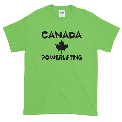 Canada Powerlifting Vinyl