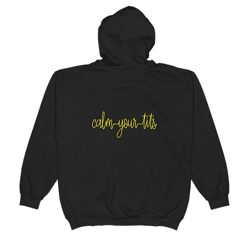 Calm Your Tits Hoodie