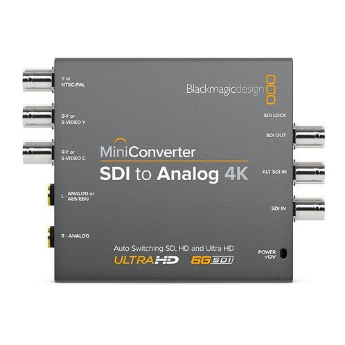 BMD Mini Converter - SDI to Analog 4K