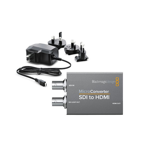 BMD Micro Converter SDI to HDMI wPSU