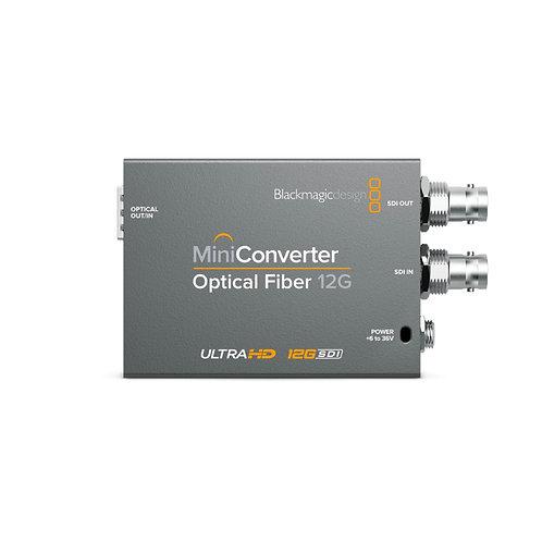 BMD Mini Converter - Optical Fiber 12G