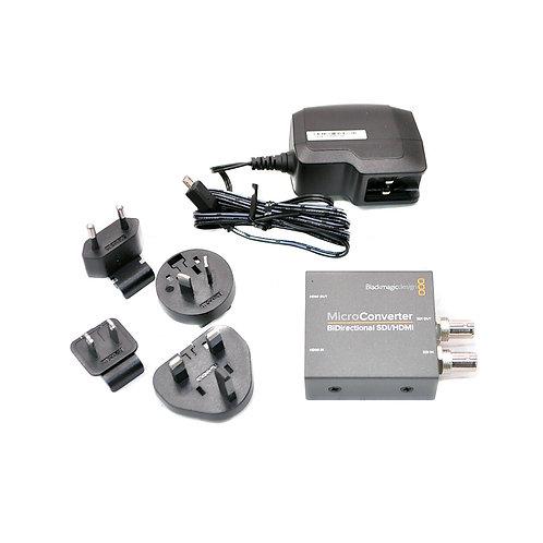 BMD Micro Converter BiDirect SDI/HDMI wPSU