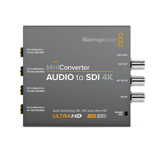 BMD Mini Converter - Audio to SDI 4K