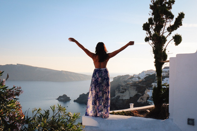 Magaly in Oia