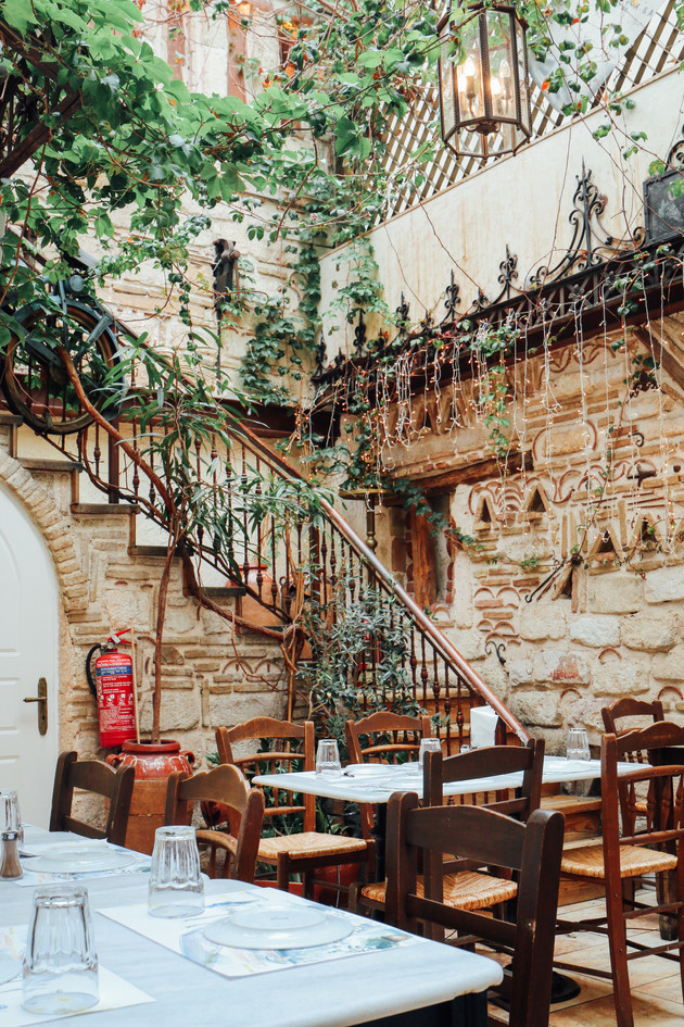 A taverna in Monastiraki