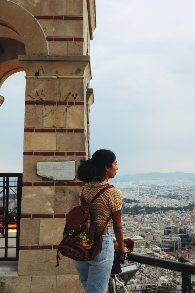 Tany in Mount Lycabettus