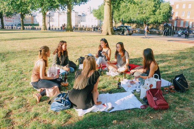 Picnic in Hyde Park