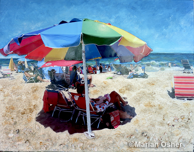 Under the Rainbow Umbrella_Marian Osher