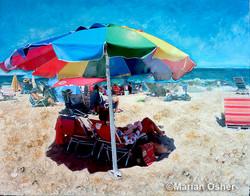 Under the Rainbow Umbrella_Marian Osher