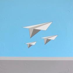 Beach+Dreams+&+Paper+Airplanes+20x20