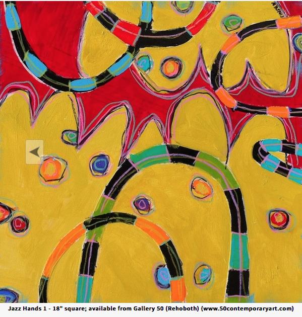 Jazz Hands 1 18x18