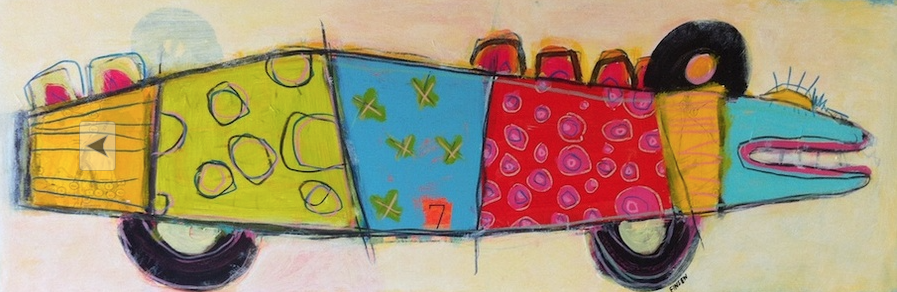 Fish Car 12x36