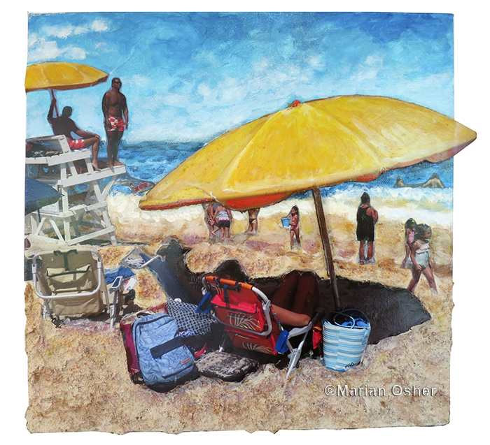 Yellow Umbrellas_copyright Marian Osher