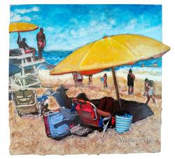 Yellow Umbrellas_copyright Marian Osher