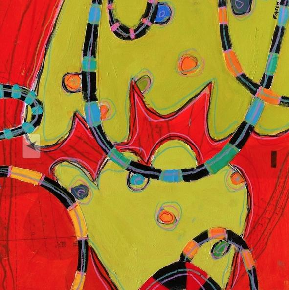 Jazz Hands 3 18x18