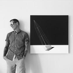 Artist Jason Wright at Wright Gallery Hawaii