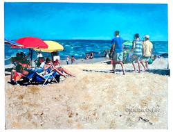 Beach Buddies_copyright Marian Osher