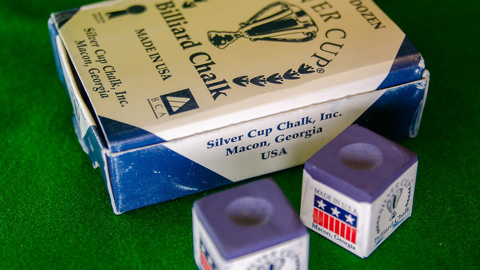 Silver Cup Pool/Snooker Chalk
