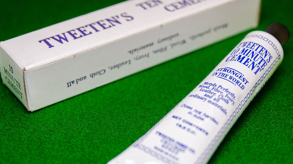 Tweenten's Ten Minute Cement