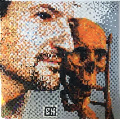 Web Art Bubbles ( pixel art - Perles HAM