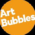Logo Art Bubbles Blanc sur Orange.png
