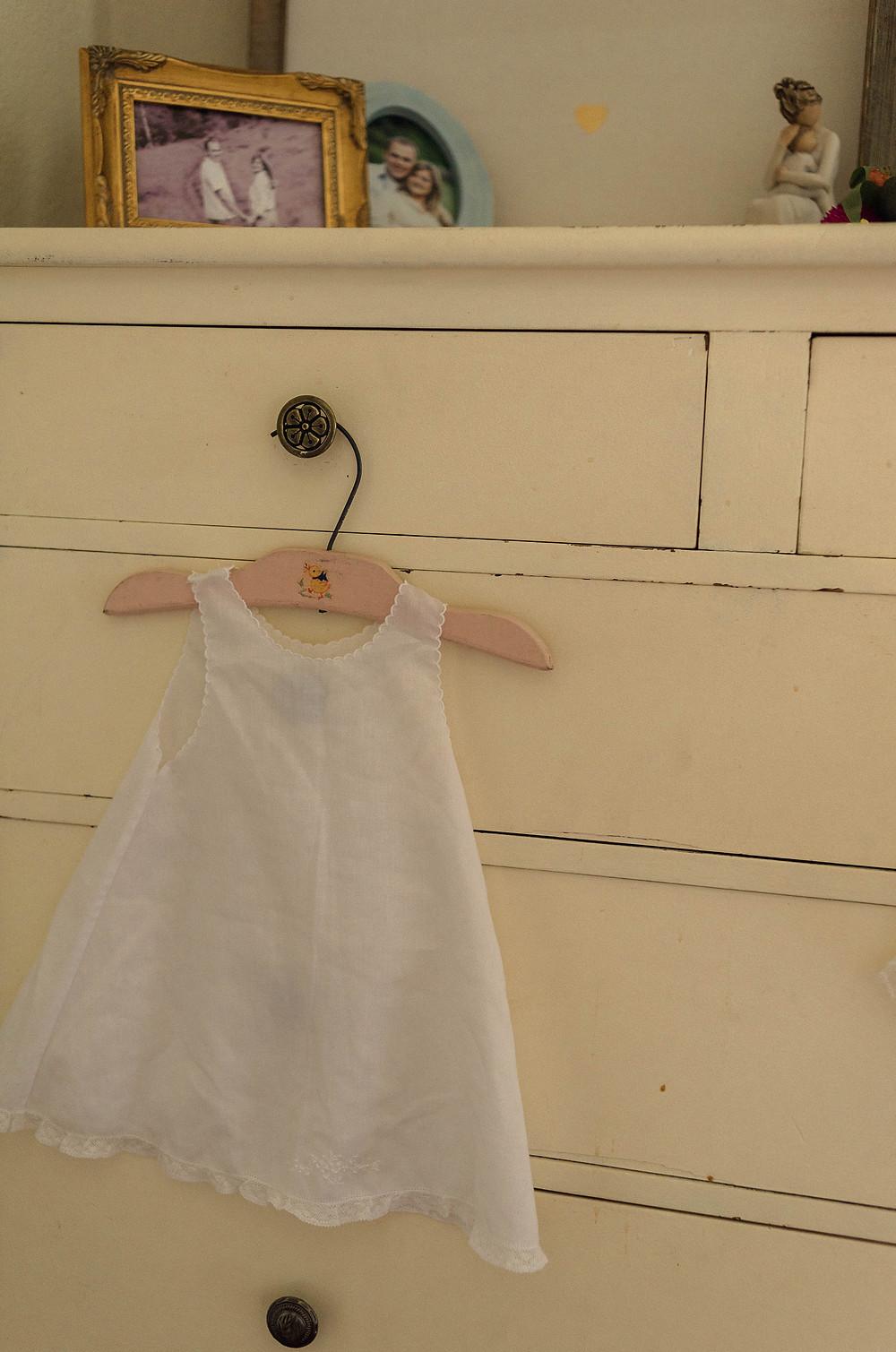 Little girls vintage dress.