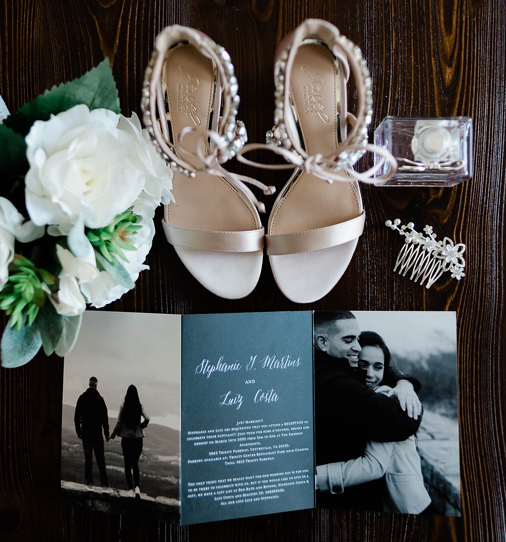The important pieces of the wedding day