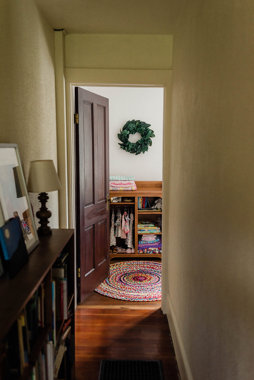 The door leading to Cody's nursery