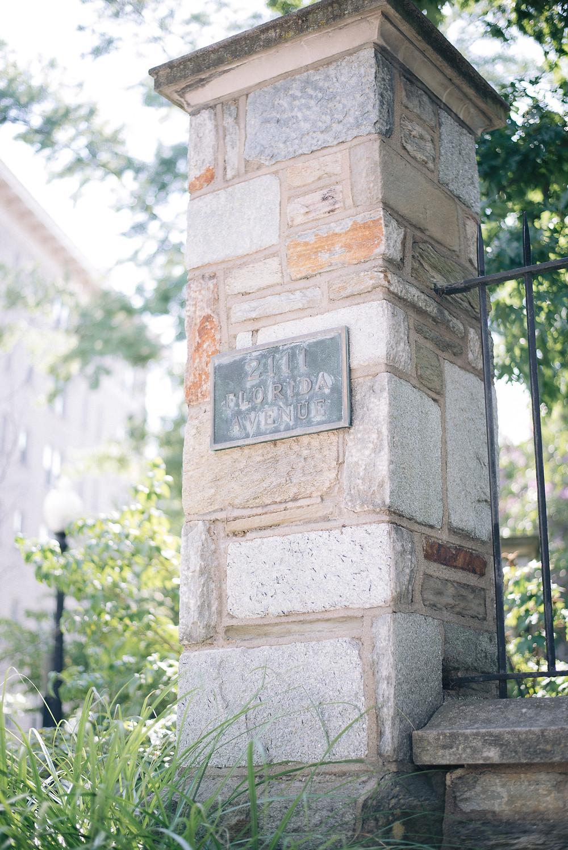 brick pillar | outside
