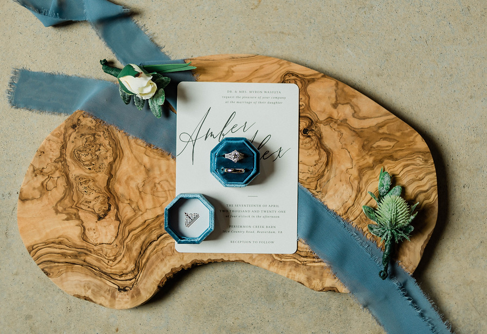 Wedding ring portraits
