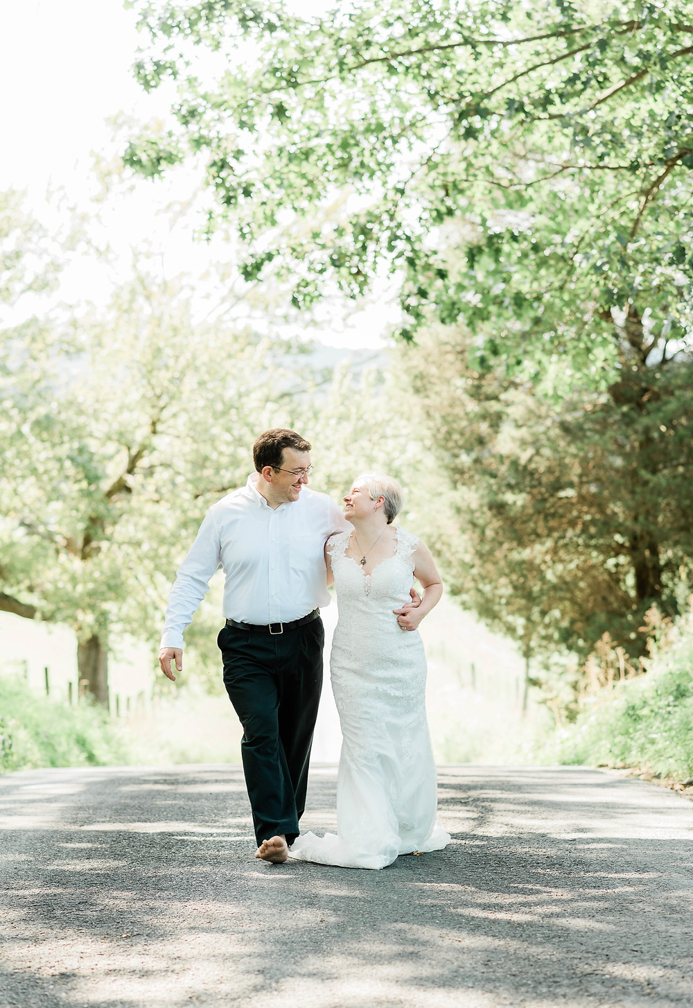 Walk with me | Bride and groom portraits