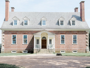 Elegant Gunston Hall Wedding | Lorton, Virginia