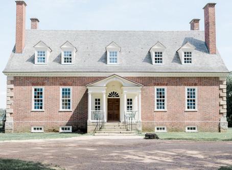 Elegant Gunston Hall Wedding   Lorton, Virginia
