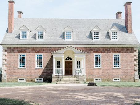 Elegant Gunston Hall Wedding | Lorton, Virginia