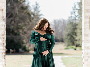 That Green Gown Maternity Shoot