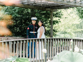 An Intimate Summer Wedding at Meadowlark Botanical Gardens, Vienna, Virginia