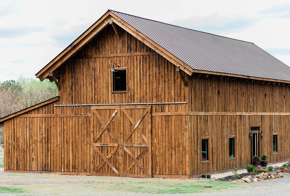 The big, beautiful barn at Persimmon Creek