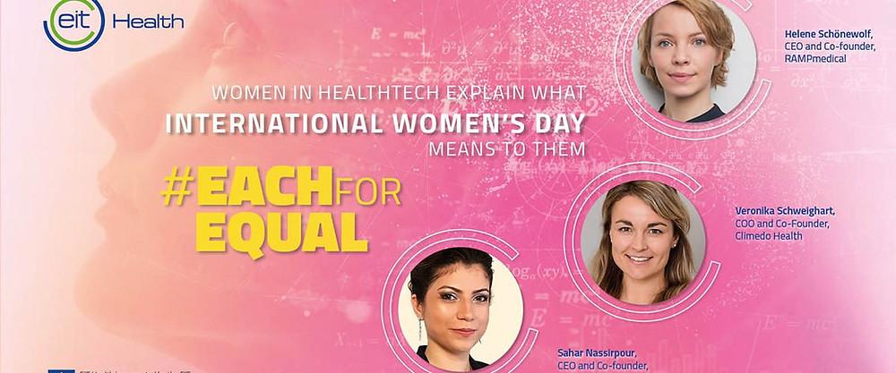 EIT Health International Women's Day